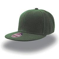 Бейсболка SNAP BACK, 6 клиньев, пластиковая застежка, Зеленый, -, 25424.18