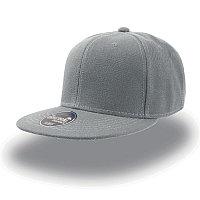 Бейсболка SNAP BACK, 6 клиньев, пластиковая застежка, Серый, -, 25424.29