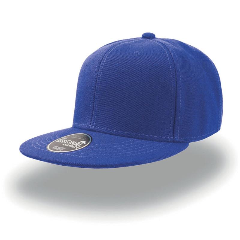 Бейсболка SNAP BACK, 6 клиньев, пластиковая застежка , Синий, -, 25424.22