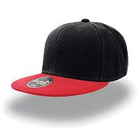 Бейсболка SNAP BACK, 6 клиньев, пластиковая застежка, Черный, -, 25424.358