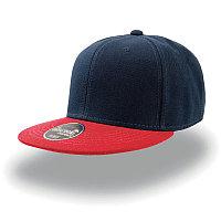 Бейсболка SNAP BACK, 6 клиньев, пластиковая застежка, Темно-синий, -, 25424.258