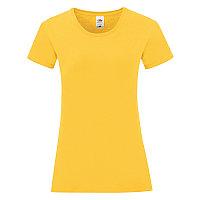 Футболка женская LADIES ICONIC 150, Желтый (Pantone 106C), S, 614320.34 S, фото 1