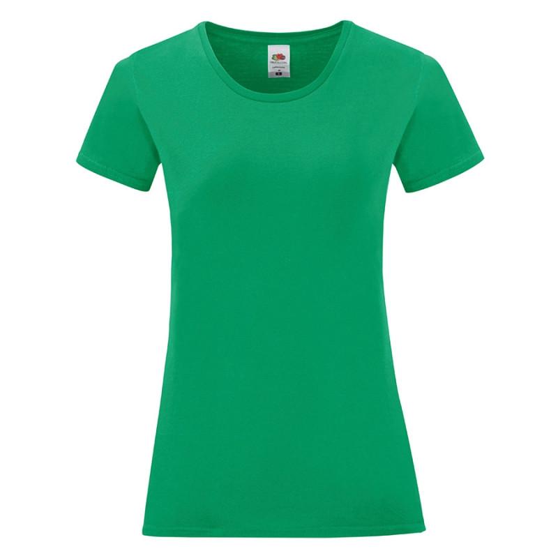 Футболка женская LADIES ICONIC 150, Зеленый, S, 614320.47 S