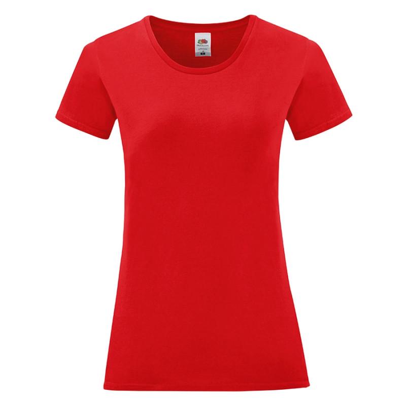Футболка женская LADIES ICONIC 150, Красный, L, 614320.40 L