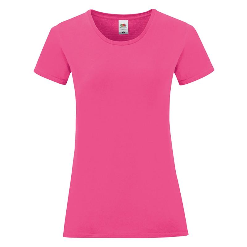 Футболка женская LADIES ICONIC 150, Розовый, L, 614320.57 L