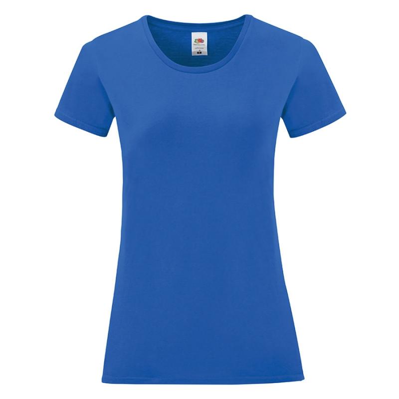 Футболка женская LADIES ICONIC 150, Синий, S, 614320.51 S