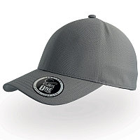Бейсболка CAP ONE, без панелей и швов, без застежки, Серый, -, 25448.29, фото 1