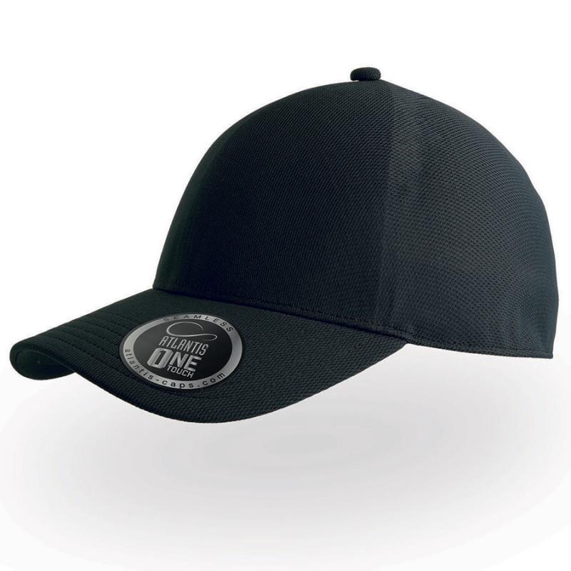 Бейсболка CAP ONE, без панелей и швов, без застежки, Черный, -, 25448.35