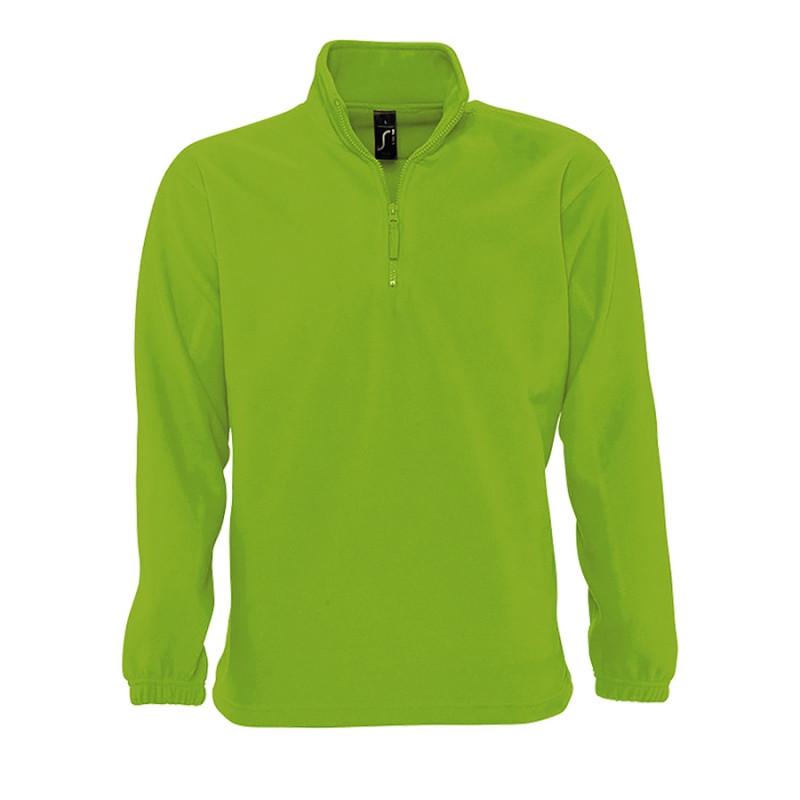 Толстовка унисекс флисовая NESS 300, Зеленый, M, 756000.281 M