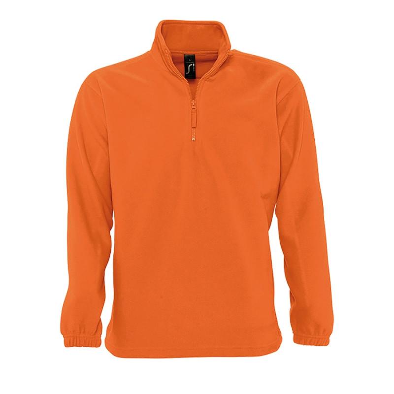 Толстовка унисекс флисовая NESS 300, Оранжевый, S, 756000.400 S