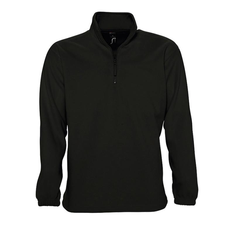 Толстовка унисекс флисовая NESS 300, Черный, XL, 756000.312 XL