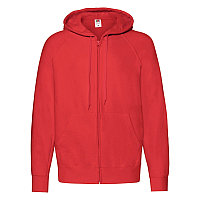 Толстовка мужская LIGHTWEIGHT HOODED SWEAT JACKET 240, Красный, S, 621440.40 S, фото 1