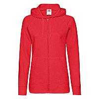 Толстовка женская LADIES LIGHTWEIGHT HOODED SWEAT 240, Красный, XL, 621500.40 XL, фото 1