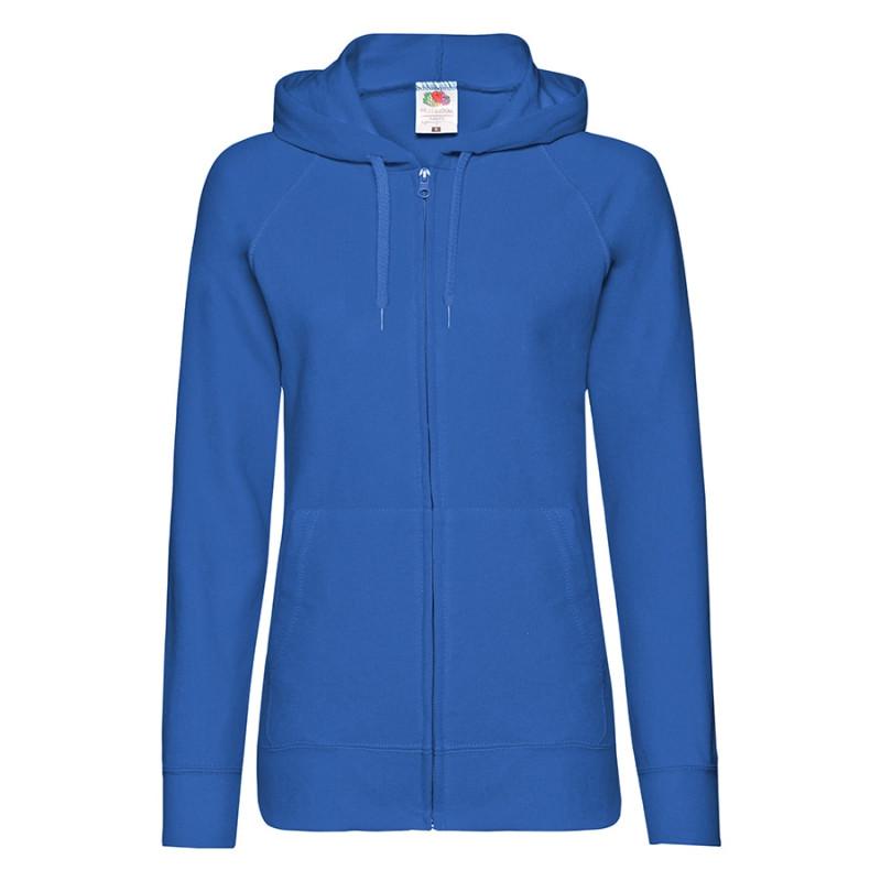 Толстовка женская LADIES LIGHTWEIGHT HOODED SWEAT 240, Синий, XL, 621500.51 XL
