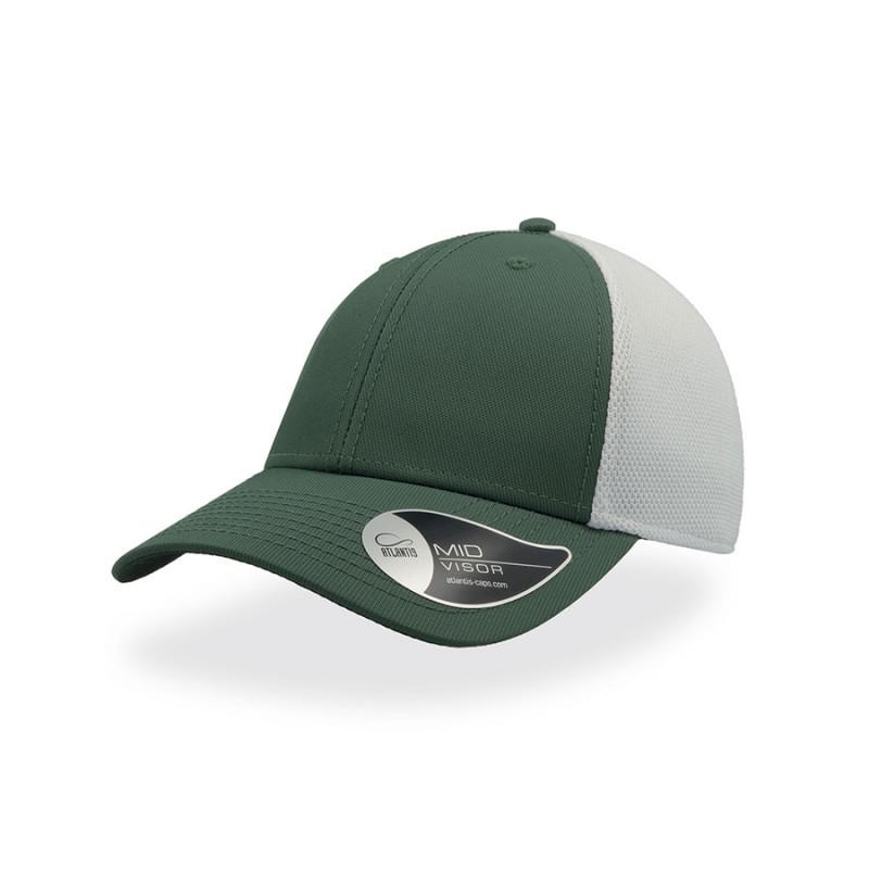 Бейсболка СAMPUS, 6 клиньев, застежка на липучке, Зеленый, -, 25484.15