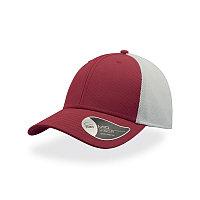 Бейсболка СAMPUS, 6 клиньев, застежка на липучке, Красный, -, 25484.08
