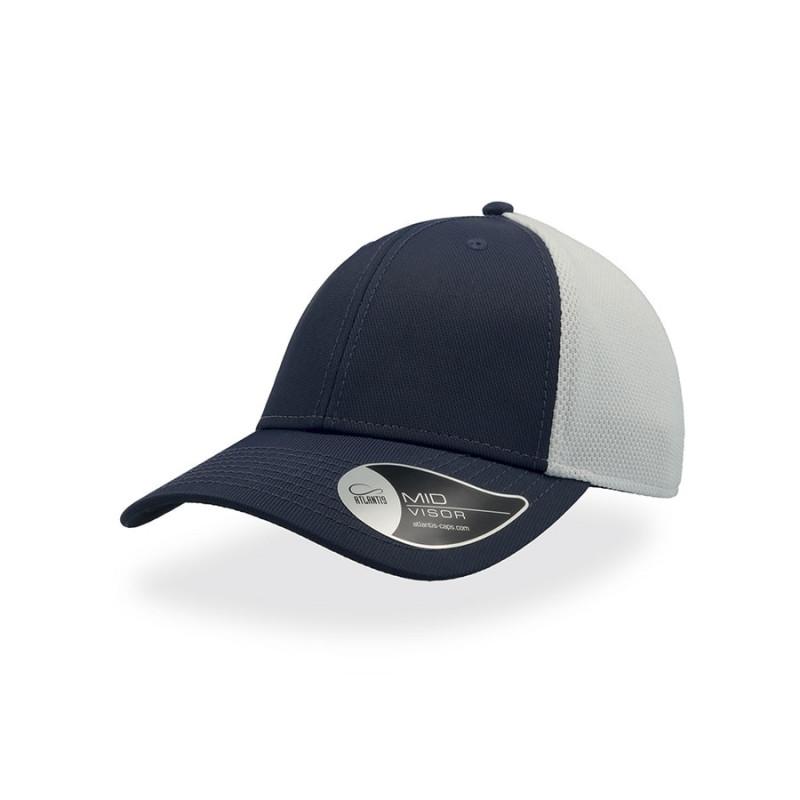 Бейсболка СAMPUS, 6 клиньев, застежка на липучке, Темно-синий, -, 25484.26