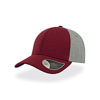 Бейсболка CONTEST, 6 клиньев, пластиковая застежка, Красный, -, 25485.13, фото 1