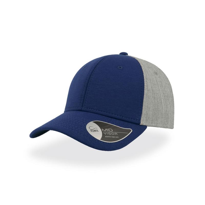 Бейсболка CONTEST, 6 клиньев, пластиковая застежка, Синий, -, 25485.24