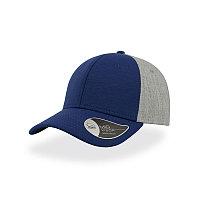 Бейсболка CONTEST, 6 клиньев, пластиковая застежка, Синий, -, 25485.24, фото 1