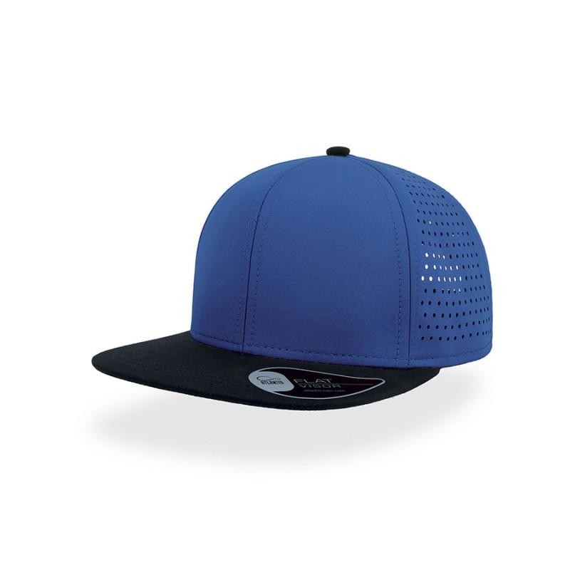 Бейсболка BANK, 6 клиньев, пластиковая застежка, Синий, -, 25486.24