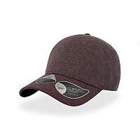 Бейсболка UNI-CAP PIQUET, без панелей и швов, без застежки, Бордовый, -, 25482.13