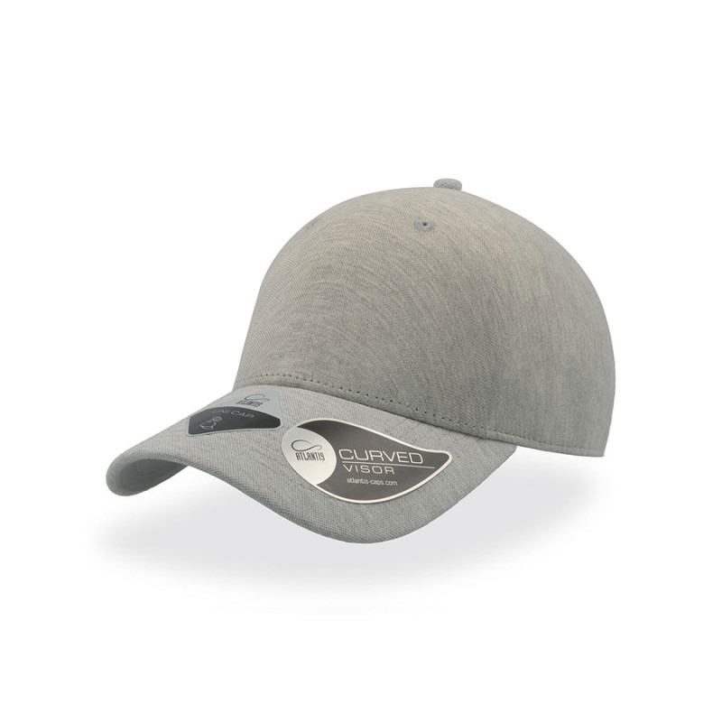 Бейсболка UNI-CAP PIQUET, без панелей и швов, без застежки, Серый, -, 25482.29