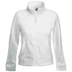 Толстовка женская LADY-FIT SWEAT JACKET 280, Белый, XS, 621160.30 XS