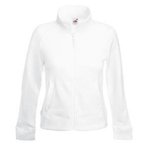 Толстовка женская LADY-FIT SWEAT JACKET 280, Белый, L, 621160.30 L