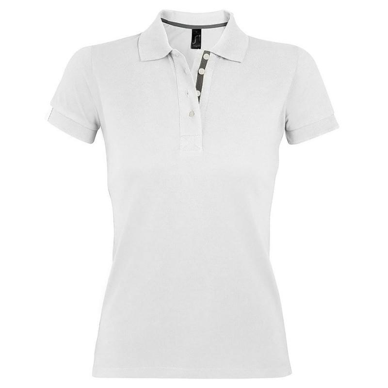 Поло женское PORTLAND WOMEN 200, Белый, XL, 700575.102 XL