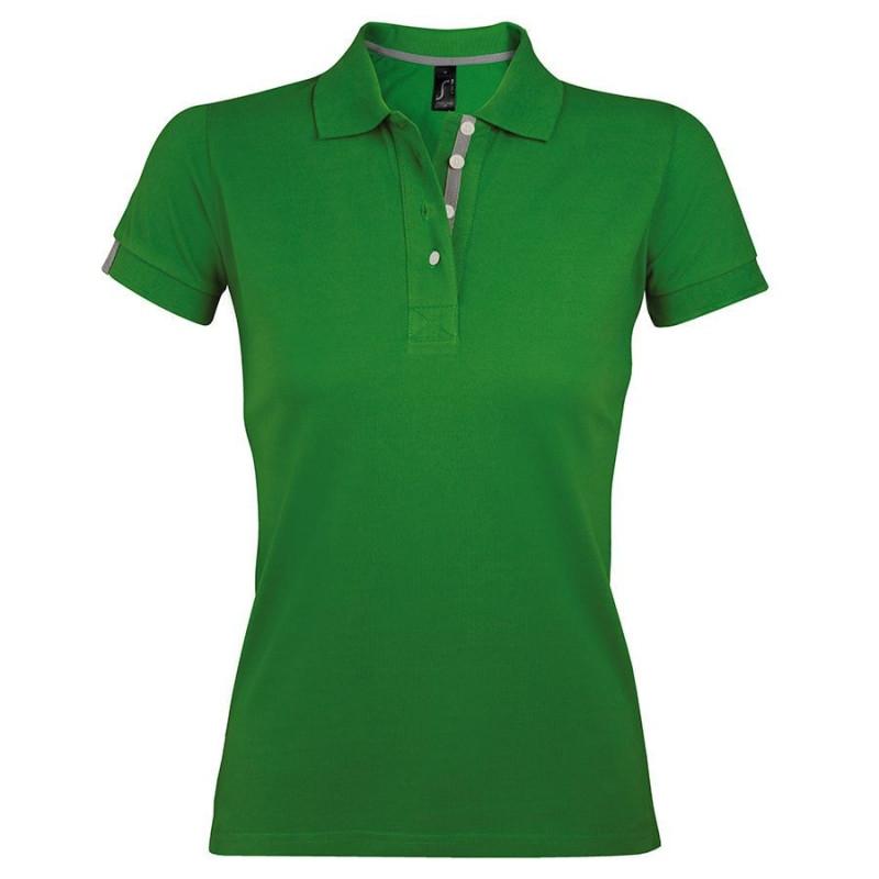 Поло женское PORTLAND WOMEN 200, Зеленый, M, 700575.284 M