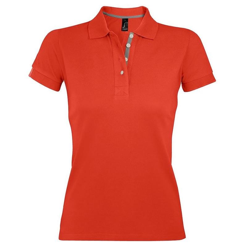 Поло женское PORTLAND WOMEN 200, Оранжевый, M, 700575.403 M