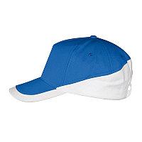 Бейсболка BOOSTER, 5 клиньев, металлическая застежка, Синий, -, 700595.913