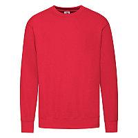 """Толстовка мужская без начеса """"Lightweight Set-in Sweat"""", красный, S, 80% х/б 20% полиэстер, 240 г/м2, Красный,, фото 1"""