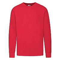 """Толстовка мужская без начеса """"Lightweight Set-in Sweat"""", красный, L, 80% х/б 20% полиэстер, 240 г/м2, Красный,, фото 1"""