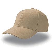 Бейсболка PILOT, 6 клиньев, металлическая застежка, Бежевый, -, 25418.14