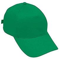 Бейсболка STANDARD, 5 клиньев, металлическая застежка, Зеленый, -, 8300 47
