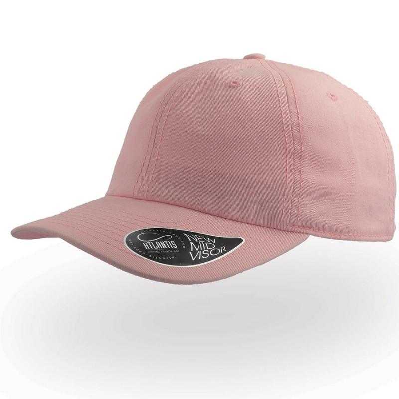 Бейсболка DAD HAT, 6 клиньев, металлическая застежка, Розовый, -, 25462.10