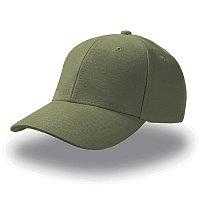 Бейсболка PILOT, 6 клиньев, металлическая застежка, Зеленый, -, 25418.18