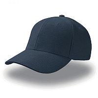 Бейсболка PILOT, 6 клиньев, металлическая застежка, Темно-синий, -, 25418.25