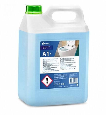 Моющее средство для ежедневной уборки туалетов А1+, фото 2