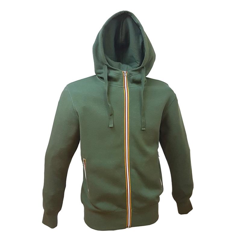 Толстовка мужская с начесом LAS VEGAS MAN 280, Зеленый, L, 399933.17 L