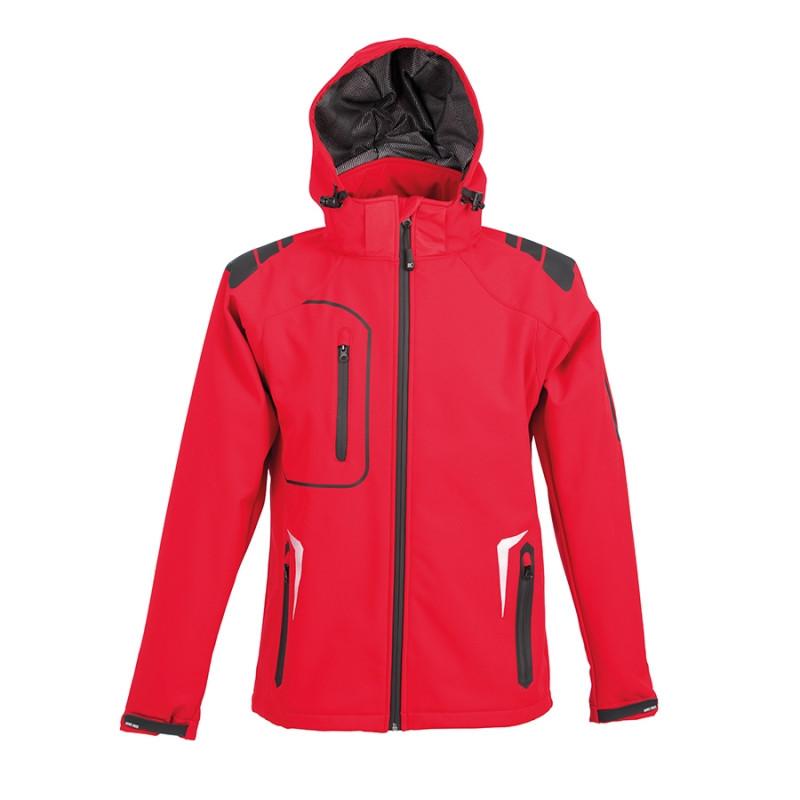 Куртка софтшелл ARTIC 320, Красный, S, 399926.08 S