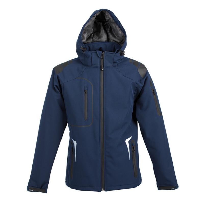 Куртка софтшелл ARTIC 320, Темно-синий, S, 399926.26 S