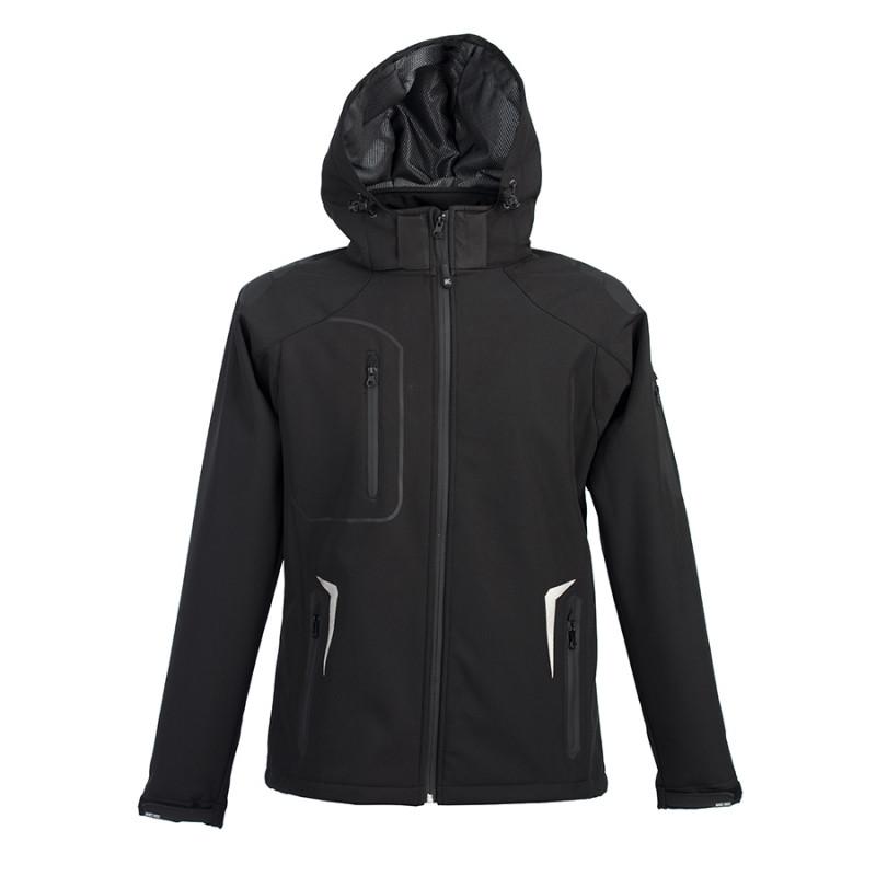 Куртка софтшелл ARTIC 320, Черный, 2XL, 399926.35 2XL