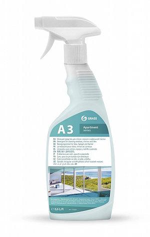 Моющее средство для стекол, зеркал и кафельной плитки А3, фото 2