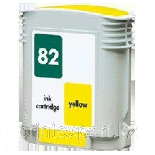 Картридж HP C4913A №82 для DesignJet 100/120/500/800 yellow ОЕМ