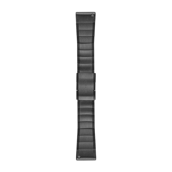 Ремешок для GPS часов Garmin Fenix 5X/6X титан серый