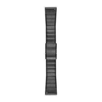 Ремешок для GPS часов Garmin Fenix 5X/6X титан серый, фото 2