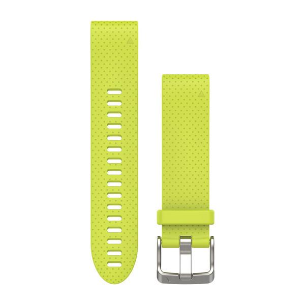 Ремешок для GPS часов Garmin Fenix 5S/6S силикон желтый